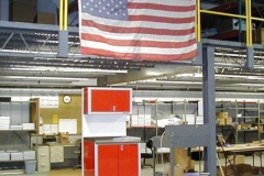 Rolling Cabinet, made with pride in the USA