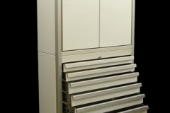 Drawer Cabinet with Storage Cabinet
