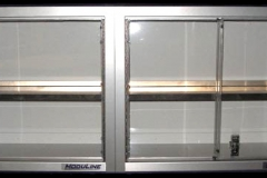 Display Cabinets with plexiglass doors