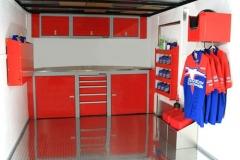 Sportsman Aluminum Trailer Cabinets