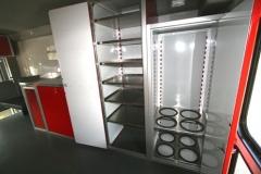 Aluminum Trailer Closet