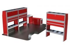 Aluminum Van Cabinets