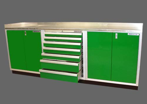Photo Gallery Drawer Cabinets Moduline By Gill Metal Fab