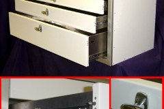 Custom Lightweight Aluminum Drawer Unit