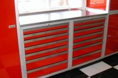 Aluminum Drawer Units