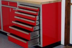Aluminum Drawer Unit