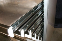 Close-up of Drawers manufactured by GMF