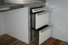 Aluminum Desk drawers