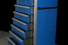 Mobile tall tool chest
