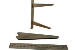 Stainless Steel Heavy Duty Double Shelf Brackets and Standards