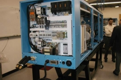 Machine Frame and Control Cabinet