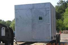 Insulated Environmental Test Chamber with galvanized skin and 150 F degree temperature rating.
