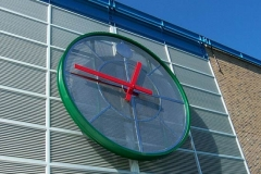 16' Diameter Stainless Steel Clock Face